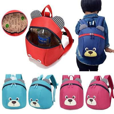 Anti-lost Kid Toddler Safety Harness Cute Bear Backpack Strap Walker Baby Bags A