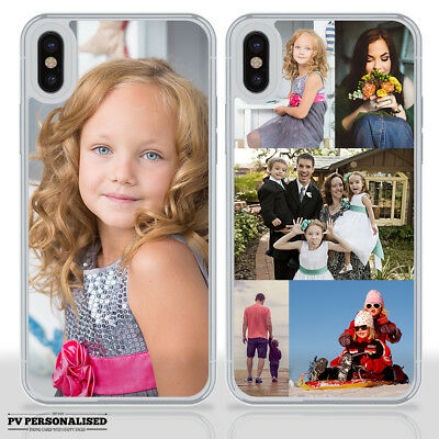 PERSONALISED HARD PHONE CASE COVER PHOTO / COLLAGE for APPLE IPHONE X XR XS Max