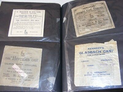 Vintage Collection Fishing Advertising Packaging Makers Packets X 200 Trace Hook