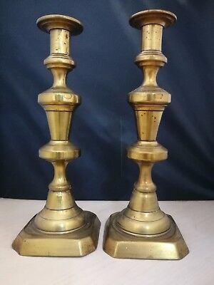Vintage 25CM Brass Candle Stick Holders