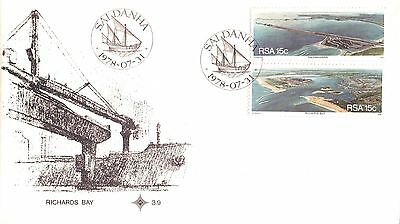 South Africa First Day Cover Ports 1978