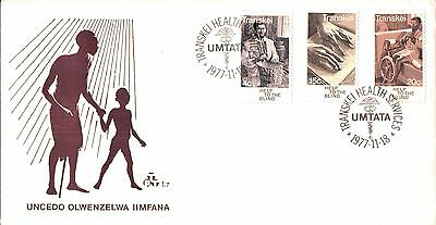 Transkei Health Services First Day Cover 1977