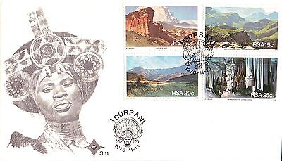 South Africa Tourism First Day Cover 1978