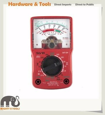 Analogue Multimeter Tester DC/AC Voltage DC Current Resistance Battery Test