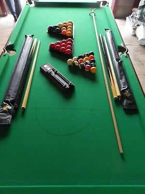 6ft x 3ft Snooker or Pool Table Top with accessories