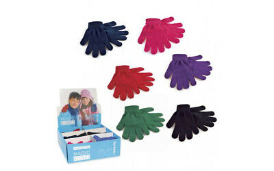Children's Thermal Magic Gloves for the winter Multi colours available 1 pair