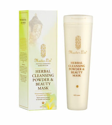 (72,50 EUR/100 g) Master Lin Herbal Cleansing Powder & Beauty Mask 40g [MHD:10/1