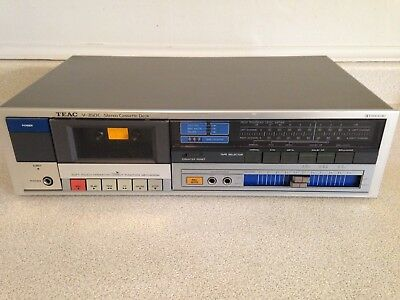 TEAC V-350C Stereo Cassette Deck With Dolby B-C NR, Very Good Working Condition