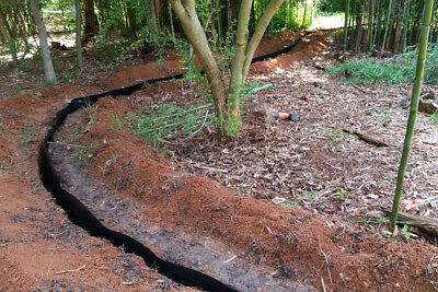Root Barrier Liner 0.95mX7m L250 Reinforced HDPE Heavy Duty Easy to Work With