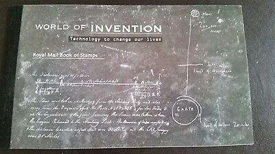 royal mail prestige booklet world of invention Royal Mail book of stamps