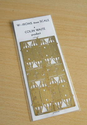 sealed 1970s pack Colin Waite 4mm scale brass RCH/GWR WAGON W-IRONS