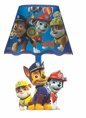 Paw patrol LED wall lamp stick on boys girls bedroom night light