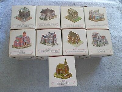 Lot Of 9 - Liberty Falls Collection - Ah80-88 (9 Total) With Boxes