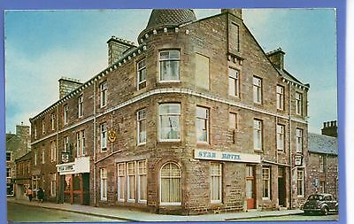 Old Vintage Rp Postcard Star Hotel Kingussie Inverness-Shire
