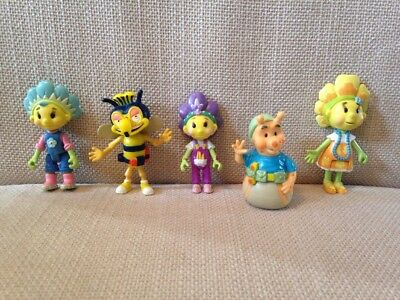 Five Fifi And The Flowertots Plastic Figures!