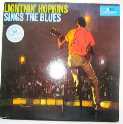 LIGHTNIN HOPKINS /  SINGS THE BLUES [ IMPERIAL France RE ] LP  LP