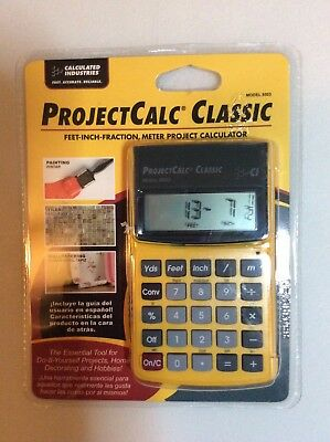NEW Calculated Industries 8503 ProjectCalc Classic Home Improvement Calculator