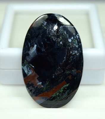 Aaa !  51.45 Cts. 100 % Natural Chatoyant Pietersite Oval Cab Gems For Pendant