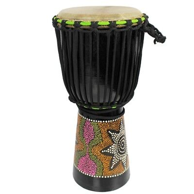 A-Star 8 inch Painted Djembe