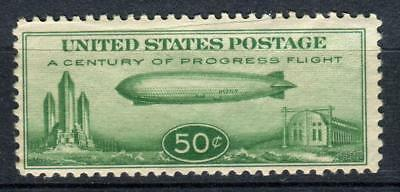 """1933 United States,Air Post Issue,Airship """"Graf Zeppelin"""" Sc#C18 MNH"""