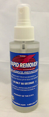 Rapid Remover 4 Oz Bottle With Sprayer, In Stock And Ready To Ship!