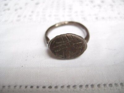 Ancient Bronze Ring Detecting Find