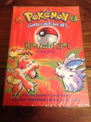 Pokemon Brushfire Base Set Theme Deck New And Sealed