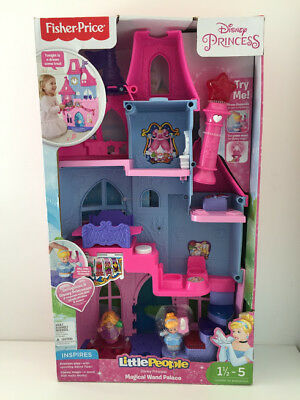 Fisher Price Little People Disney Princess Magical Wand Palace Playset Toys NEW