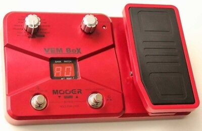 Mooer Vembox Vocal Multieffects Unit - boxed w/ power supply