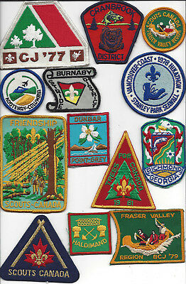 Big lot #5 Scouts Canada patches