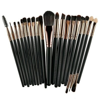 Set professionale 20 pennelli da Trucco Professional Makeup Brushes Set