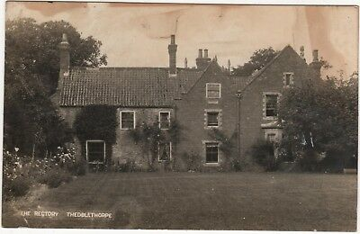 Real Photo Postcard Of The Rectory, Theddlethorpe , Lincolnshire  A/f