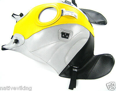 Bagster TANK PROTECTOR cover BMW K1200S 2005 in stock K 1200 S yellow grey 1498C