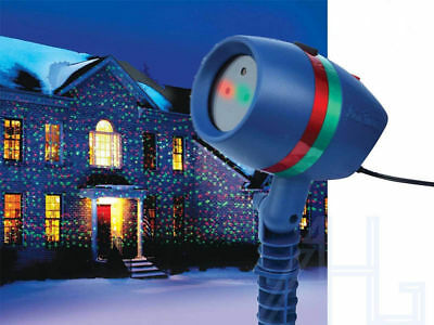 Star Shower Motion Laser Light Christmas Projected Outdoor Indoor For Xmas Party