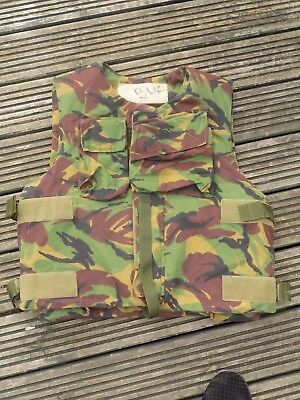 British Army Dpm Flak Vest With Filler High 190 Chest 120 -- Stab Vest