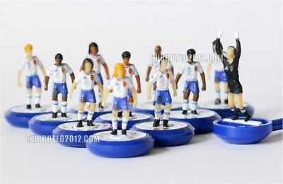 Subbuteo ZARAGOZA New UNBOXED Team Football Soccer Team Game Figures