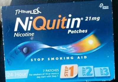 Niquitin patches step 1