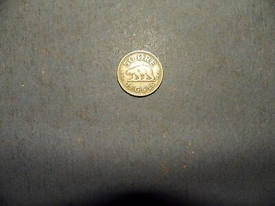 foreign coin - Greenland - 1926 50 ore - nice coin!! (RARE)! - view pics