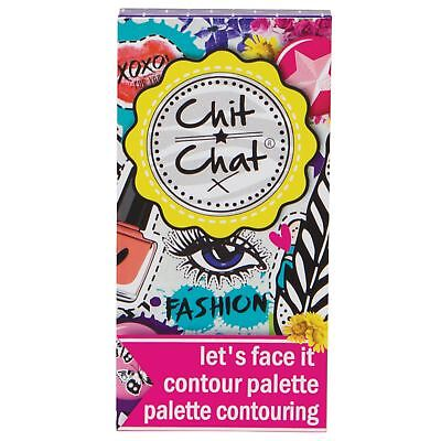 Chit Chat Let's Face It Contour Makeup Bronzer Highlighter Palette Gift Set