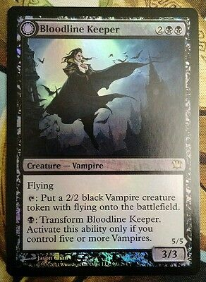 MTG Bloodline Keeper Lord of Lineage foil NM