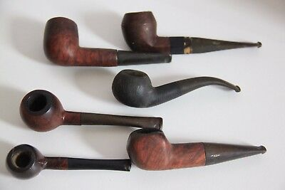 Collection - Lot de 6 pipes anciennes