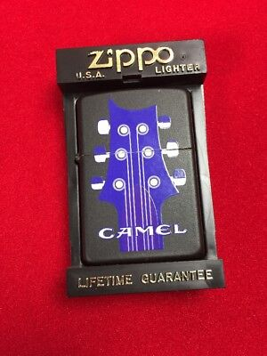 Camel Six String Guitar Z126 Zippo Lighter
