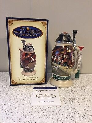 Vintage 2005 Membership Stein The Hitch At Home Anheuser Busch
