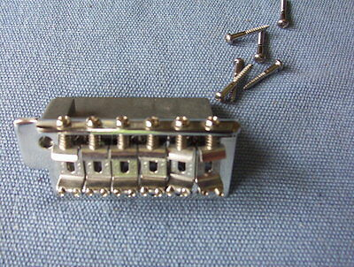 Fender tremolo bridge chrome