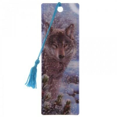marque page loup 3D