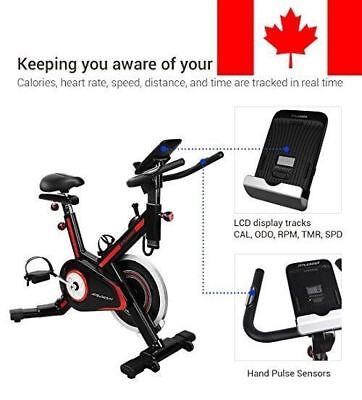 Fitleader FS1 Stationary Exercise Bike Indoor Fitness Workout Upright Gym Cyclin