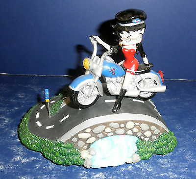 Westland Betty Boop Route 66 Musical- New in BOx  - 6840