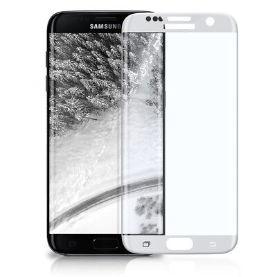 3D Panzer Glas für Samsung Galaxy S7 Edge Full Screen Cover Curved 9H Protector
