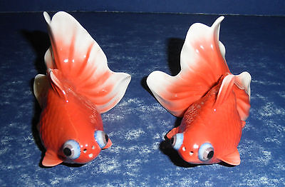 NIB -Franz Gold Fish Salt & Pepper Shakers-  FZ00669
