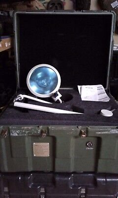 New Fedmedical Fmi-301Fb Light Surgical Field Floor W/6Hr Back Battery And Case